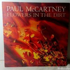 Discos de vinilo: PAUL MCCARTNEY FLOWERS IN THE DIRT - VINILO LP / EMI-ODEON 1989. Lote 137950256
