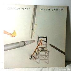 Discos de vinilo: PAUL MCCARTNEY LP VINILO PIPES OF PEACE / EMI-ODEON 1983. Lote 137950308