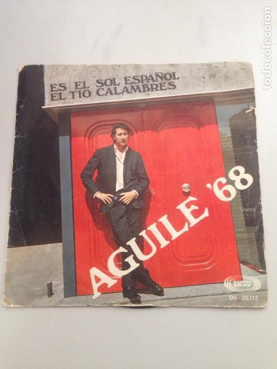 AGUILE '68 (Música - Discos - Singles Vinilo - Cantautores Españoles)