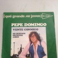 Discos de vinilo: PEPE DOMINGO. Lote 137959141
