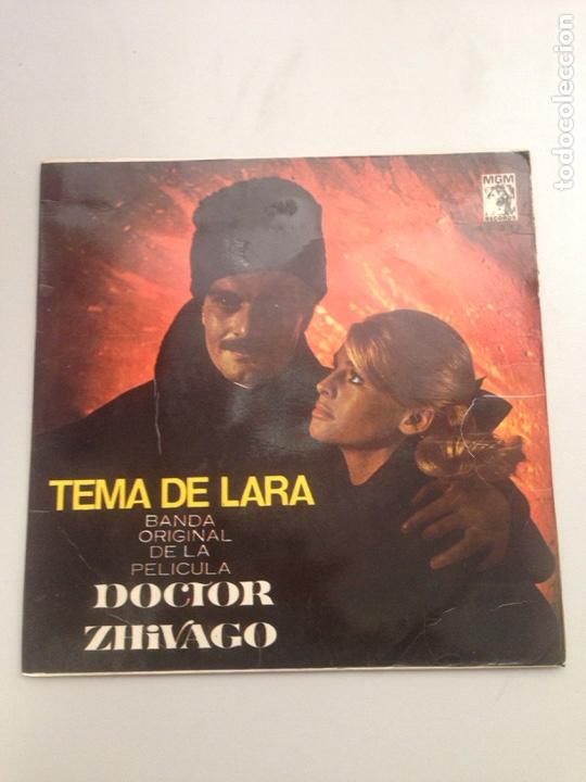 DOCTOR ZHIVAGO - TEMA DE LARA (Música - Discos - Singles Vinilo - Orquestas)