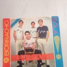 Discos de vinilo: LOS BRINCOS - BORRACHO. Lote 137960630