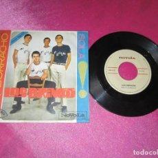 Discos de vinilo: LOS BRINCOS - BORRACHO / SOLA - SINGLE . Lote 137999190