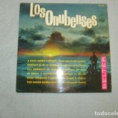 Discos de vinilo: DISCO EPS. LOS ONUBENSES . Lote 138001754