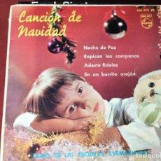 Discos de vinilo: SINGLE ORIGINAL AÑOS 60/70 DISCO LOT-A300. Lote 138003290
