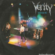 Discos de vinilo: VERITY ?– RESCUE ME (ESPAÑA, 1984. SERDISCO - PRT - CHAPA DISCOS: OOX-657. MADRID, 1984.). Lote 138078902