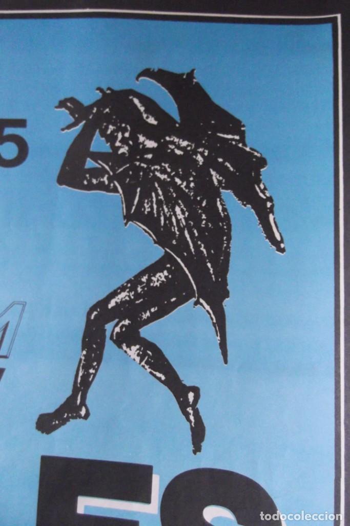 Discos de vinilo: ILEGALES-Concierto-1986-TODOS ESTAN MUERTOS-CARTEL ORIGINAL-67cm X 48cm.. - Foto 4 - 138089986