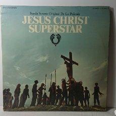 Discos de vinilo: JESUS CHRIST SUPERSTAR BSO BANDA SONORA ORIGINAL DE LA PELÍCULA - 1974 VINILO DOBLE LP. Lote 138092830