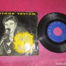 Discos de vinilo: VINCE TAYLOR, TWIST AND ROCK, WHAT'CHA GONNA EP 1962. Lote 138103454