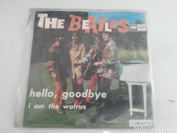 ANTIGUO DISCO DE THE BEATLES HELLO GOODBYE (Música - Discos de Vinilo - Maxi Singles - Rock & Roll)