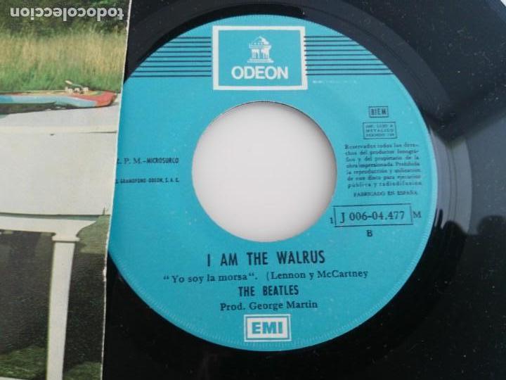 Discos de vinilo: antiguo disco de the beatles hello goodbye - Foto 3 - 138109906