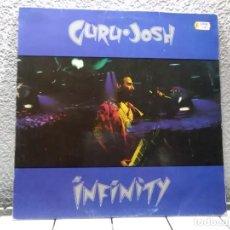 Discos de vinilo: GURU JOSH( INFINITY) . Lote 138118074