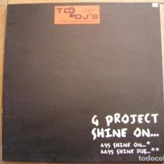 Discos de vinilo: G PROJECT SHINE ON... - VENDETTA RECORDS 1999 - MAXI - PLS. Lote 138129010
