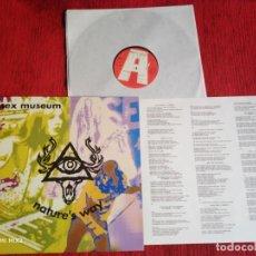 Discos de vinilo: SEX MUSEUM LP1991 NATURE'S WAY CON ENCARTE NUEVO A ESTRENAR. Lote 138151286
