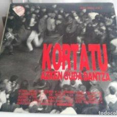 Discos de vinilo: ANTIGUO DISCO DE KORTATU. Lote 138160186