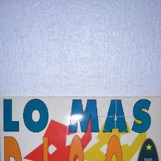 Discos de vinilo: LO MAS DISCO, 2 LPS, 1990, SNAP, DEPECHE MODE, TECHNOTRONIC, SUZANNE VEGA ,49 ERS, ICE MC,BLACK BOX. Lote 138167478