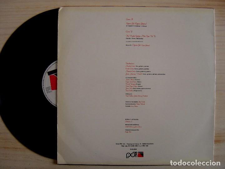 Discos de vinilo: Rum-beat - Opera-Git (Opera Gitana) - MAXI-SINGLE 45 - 1992 - PDI - Foto 2 - 138174110