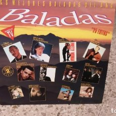 Discos de vinilo: DISCO VINILO - BALADAS 25 EXITOS MEJORES 1991 PAUL M CARTNEY , ROXETTE , COMPLICES , TINA TUNER. Lote 138179646