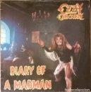 Discos de vinilo: OZZY OSBOURNE – DIARY OF A MADMAN LP VINYL 1981 SPAIN EDITION.. Lote 138184274