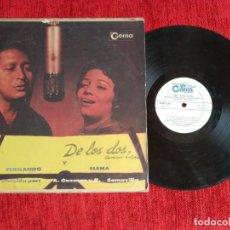 Discos de vinilo: ELENA BURKE CON FERNANDO ÁLVAREZ/ PRIMEROS AÑOS 60 /CARPETA DURA. Lote 138184374