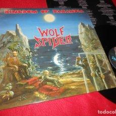 Discos de vinilo: WOLF SPIDER KINGDOM OF PARANOIA LP 1990 UNDER ONE FLAG FLAG49 EDICION FRANCESA FRANCE. Lote 138220478