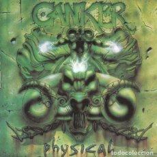 Discos de vinilo: CANKER – PHYSICAL - LP VINYL 1994 - SPAIN THRASH METAL (METALLICA, MURO, CROM). Lote 138223766