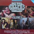 Discos de vinilo: VARIOUS – METAL KILLERS KOLLECTION VOLUME II - 2X LP VINYL ( SABBATH, WAYSTED, RAVEN ETC ). Lote 138236150