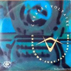 Discos de vinilo: CABARET VOLTAIRE : JUST FASCINATION [ESP 1982] 7'. Lote 138240458