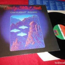 Discos de vinilo: CROSBY STILLS & NASH DAYLIGHT AGAIN LP 1982 ATLANTIC EDICION ESPAÑOLA SPAIN. Lote 138241066