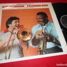 Discos de vinilo: CAT ANDERSON/FRANÇOIS FRANCOIS GUI&LES FOUR BONES HOUSE OF JAZZ VOL.14 LP 1981 ESPAÑA SPAIN. Lote 138245042