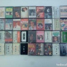 Discos de vinilo: LOTE, 44 ANTIGUAS CINTAS ANTIGUAS CASSETTE.. Lote 138249906