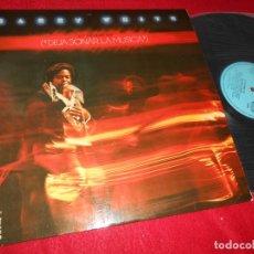 Discos de vinilo: BARRY WHITE LE THE MUSIC PLAY DEJA SONAR LA MUSICA LP 1976 20TH CENTURY/MOVIEPLAY ESPAÑA SPAIN. Lote 138264738