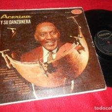 Discos de vinilo: ACERINA Y SU DANZONERA LP 19?? ORFEON LP-12-275 MEXICO LATIN DANZON. Lote 138276050
