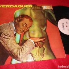 Discos de vinilo: JUAN VERDAGUER PROHIBIDO EN TV VOLUMEN 1 LP 19?? CISNE CI-1006 MEXICO HUMOR COMICO. Lote 138277062