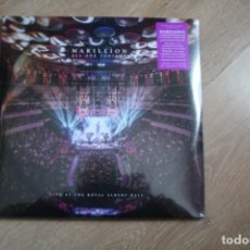 Discos de vinilo: MARILLION, ALL ONE TONIGHT, LIVE AT THE ROYAL ALBERT HALL, 4 LPS, NUEVO.. Lote 138288822
