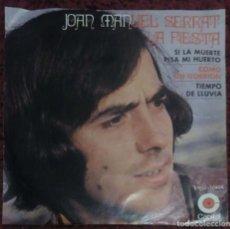 Discos de vinilo: JOAN MANUEL SERRAT (LA FIESTA + 3) EP 1970 CAPITOL MEXICO. Lote 138304502