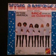 Discos de vinilo: VIVA AMERICA - RYTHM AMERICA - BANZAI DANSÉ PAR LES CLODETTES -- REFGIMHAULEMOTRPAMHOR. Lote 138312822