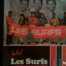 Discos de vinilo: LES SURFS - EN UNA FLOR - LA VIDA ES ASÍ - - CAFE, VAINILLA O --- REFGIMHAULEMOTRPAMHOR. Lote 138323018