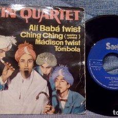 Discos de vinilo: LATIN QUARTET - ALÍ BABÁ TWIST / CHING CHING / MADISON TWIST / TÓMBOLA - SELLO SAEF DEL AÑO 1962 . Lote 138378014