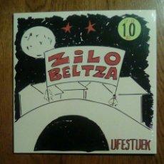 Discos de vinilo: UFESTUEK - ZILO BELTZA, 2015, DDT. EUSKAL HERRIA.. Lote 138390993