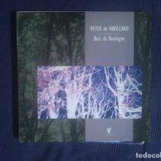 Discos de vinilo: PETER DE HAVILLAND.BOIS DE BOULOGNE.LP.VANGELIS. Lote 138409434