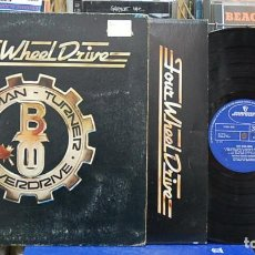 Discos de vinilo: BACHMAN-TURNER OVERDRIVE. FOUR WHEEL DRIVE. MERCURY 1975, REF, 9100 012. LP. Lote 138528146