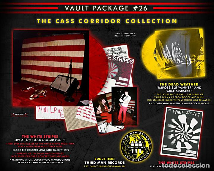 Discos de vinilo: THIRD MAN RECORDS VAULT #26 THE WHITE STRIPES - LIVE AT THE GOLD DOLLAR II Box Set Nuevo - Foto 1 - 138539758