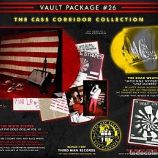Discos de vinilo: THIRD MAN RECORDS VAULT #26 THE WHITE STRIPES - LIVE AT THE GOLD DOLLAR II BOX SET NUEVO. Lote 138539758