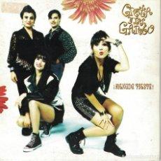 Discos de vinilo: GRETA Y LOS GARBO - MENUDA FIESTA / BAILARAS AQUI (SINGLE ESPAÑOL, FONOMUSIC 1990). Lote 138548546