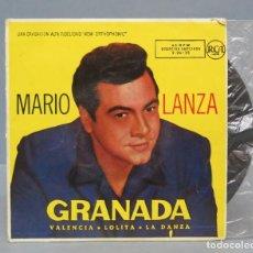 Discos de vinilo: EP. GRANADA. MARIO LANZA. Lote 138555970