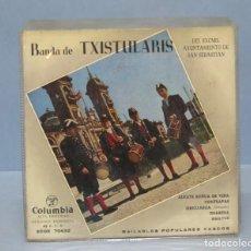Discos de vinilo: EP. BANDA DE TXISTULARIS. ALKATE SOÑUA DE VERA. Lote 138556134