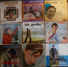 Discos de vinilo: LOTE DE 9 DISCOS VARIADOS ESTILOS. Lote 138556682