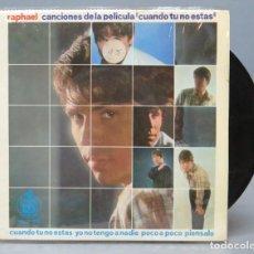 Discos de vinilo: EP. RAPHAEL. CANCIONES DE LA PELICULA. Lote 138557130