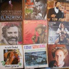 Discos de vinilo: LOTE DE 9 DISCOS VARIADOS ESTILOS. Lote 138558086